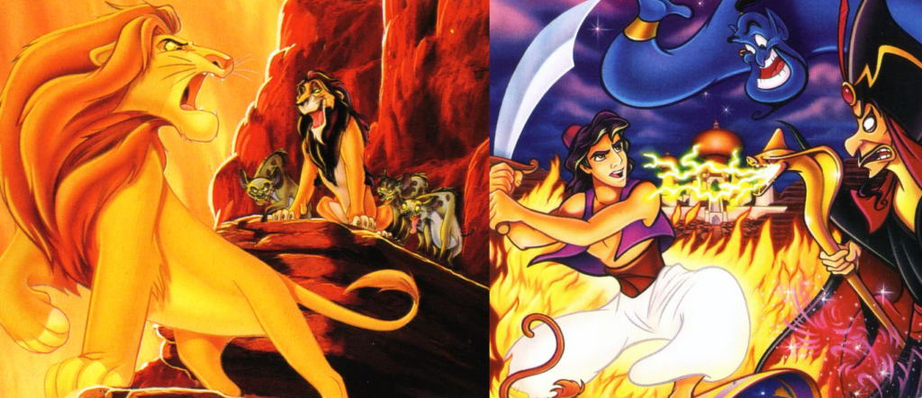Lion King and Aladdin HD Remasters