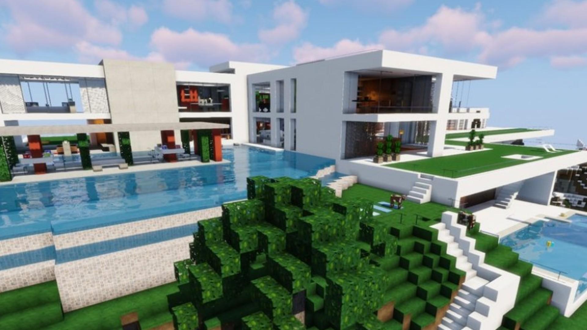 Modelli Di Case Da Costruire fantastiche case minecraft: idee per la tua prossima costruzione