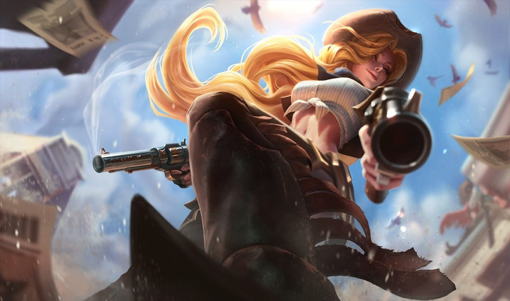 Miss Fortune riceve le nuove Perky Splash Arts in League of Legends