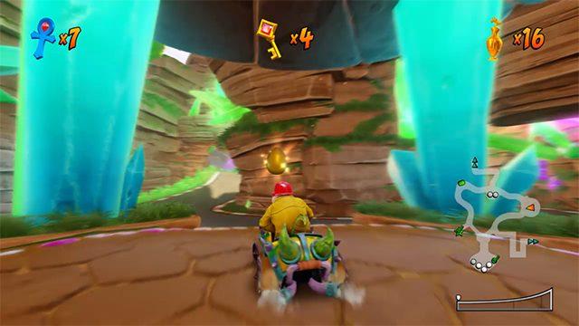 Crash Team Racing Posizioni di uova d'oro | Come sbloccare King Chicken