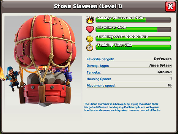 Stone Slammer / Clash ofClans