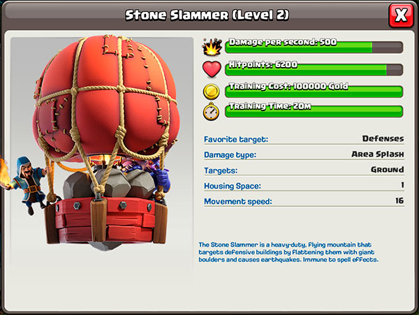 Livello 2 - Stone Slammer in Clash of Clans
