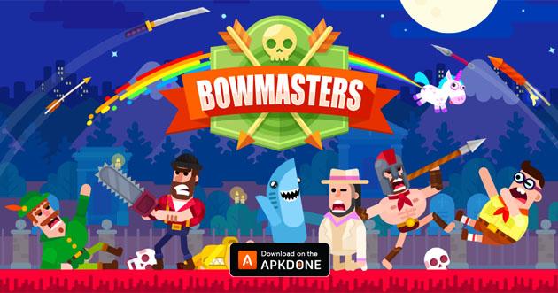Bowmasters MOD APK 2.12.7 (denaro illimitato) Scarica per Android