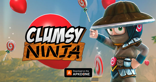 Clumsy Ninja MOD APK + file di dati OBB v1.31.0 (denaro illimitato) per Android – Download
