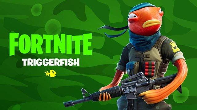 fortnite fishing frenesia torneo date volte Triggerfish