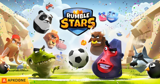 Scarica Rumble Stars Football APK + MOD 1.3.3.4 per Android