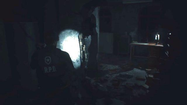 Resident Evil 2 Remake Office al 3 ° piano