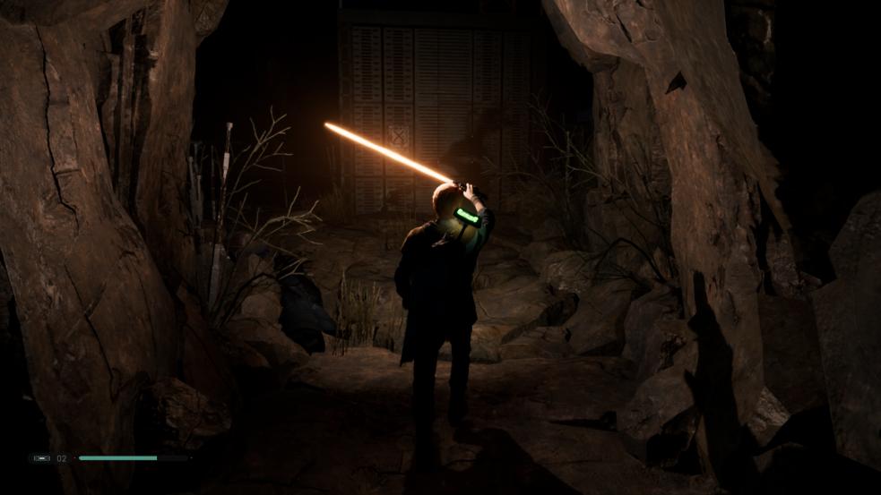 Parti della spada laser di ordine caduto Jedi