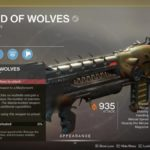 Destiny 2 Lord of Wolves Catalyst