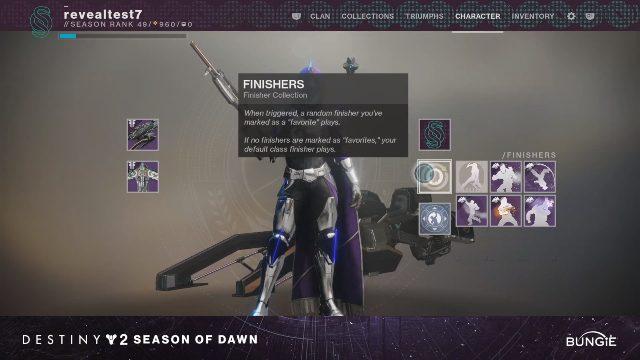 Destiny 2_ Season of Dawn _ Finitori randomizzati (1)