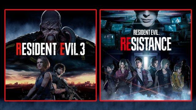 Resident Evil 3 Remake Resident Evil Resistance copertina art