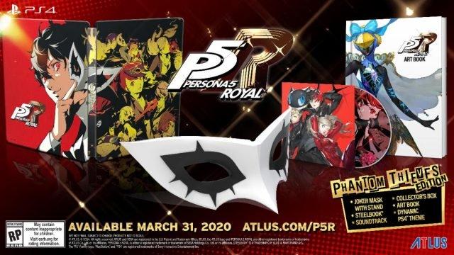 Persona 5 Royal Phanton Thieves Edition