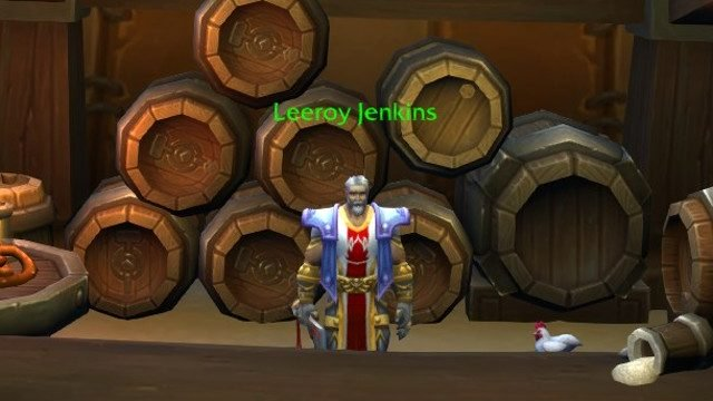 Dr. Kanojia Leeroy Jenkins World of Warcraft ansia sociale