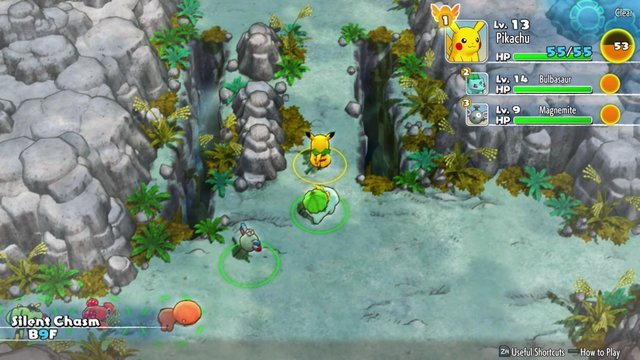 Come salvare in Pokemon Mystery Dungeon DX