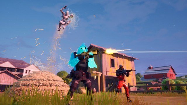 Mantello Radiante Indietro Bling Fortnite