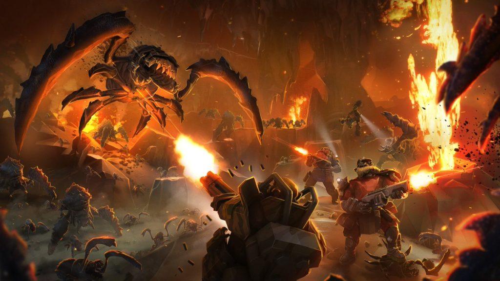 Deep Rock Galactic Update 1.0 Hotfix 2 è uscito, Dark Future Paintjobs