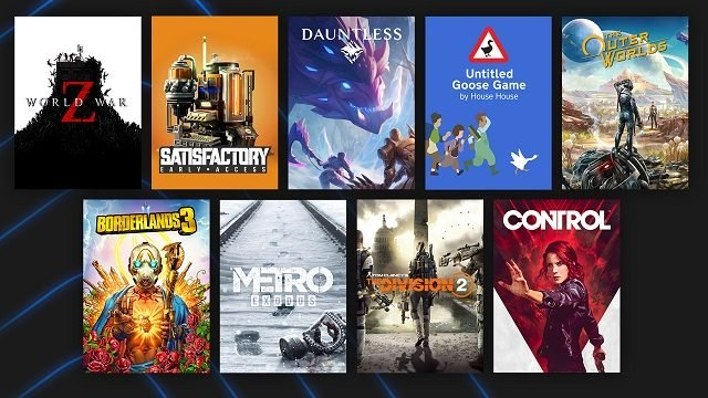 Epic Games Store 2020 Panoramica Giochi popolari