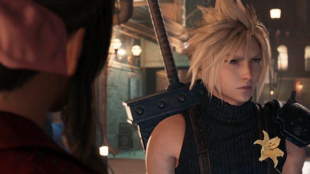 Final Fantasy 7 Remake data di uscita triste Cloud