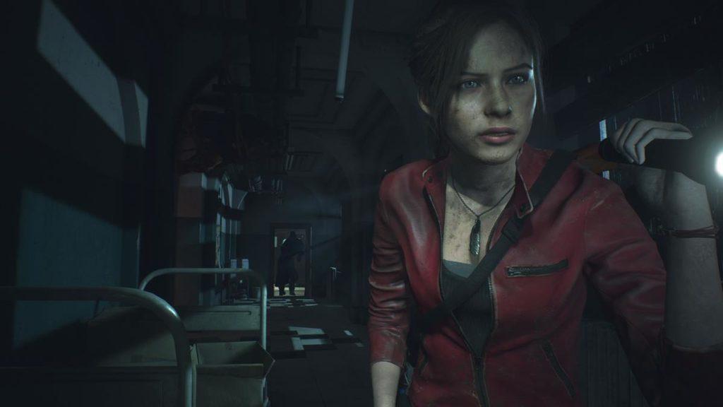 Resident Evil 2 Witcher Mod Scambia Claire per Ciri, coltello per spada