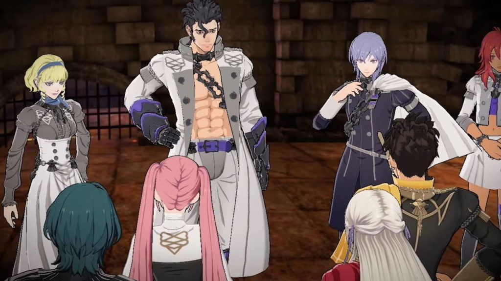 Come accedere a Cindered Shadows DLC in Fire Emblem Three Houses