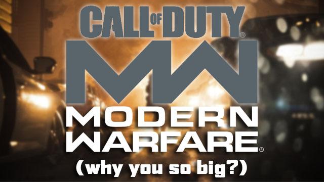 Perché Modern Warfare è così grande su PS4, Xbox One e PC?
