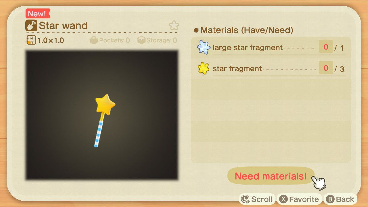 Come ottenere Star Wand in Animal Crossing New Horizons - Animal Crossing: New Horizons - Guida alle Stelle cadenti