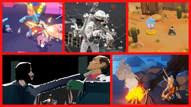 I nuovi indie per PS4 mettono in evidenza tiratori brillanti e caos colorato
