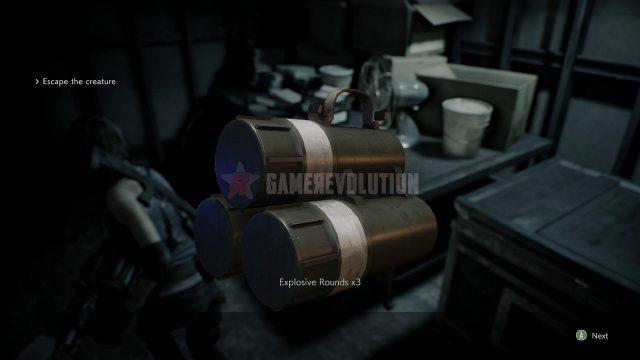 Resident Evil 3 Remake Coro di granate esplosive