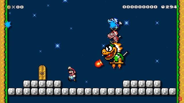 Note sulla patch di aggiornamento di Super Mario Maker 2 3.00