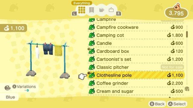 Catalogo commerciale di Animal Crossing