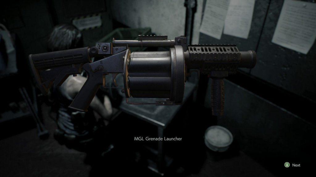 Resident Evil 3 Remake Grenade Launcher Location e Ammo Recipes