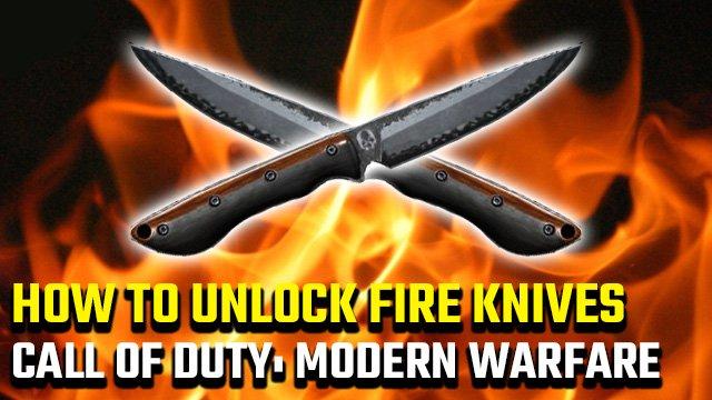 Come sbloccare i coltelli da fuoco in Call of Duty: Modern Warfare