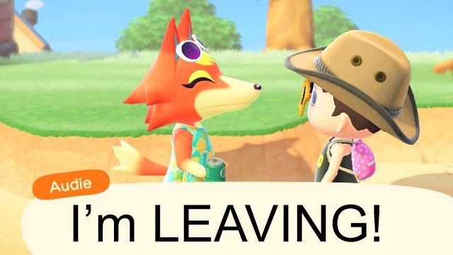 Gli abitanti dei villaggi possono andarsene senza chiedere in Animal Crossing: New Horizons?