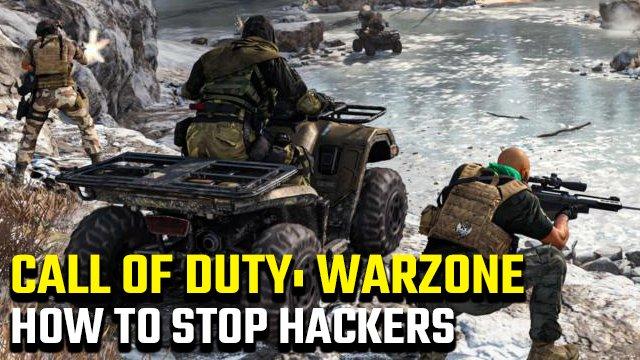 Come fermare gli hacker di Call of Duty: Warzone