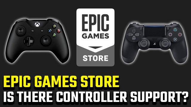 Epic Games Store ha il supporto per controller?