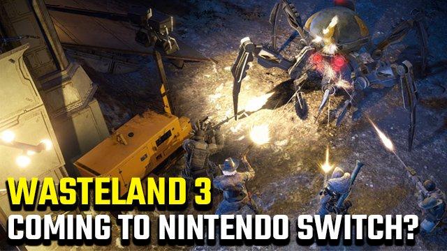 Esiste una data di rilascio di Nintendo Switch per Wasteland 3?