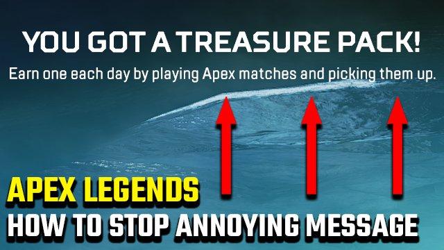 """Come fermare il messaggio """"Hai un tesoro!"""" Di Apex Legends"""
