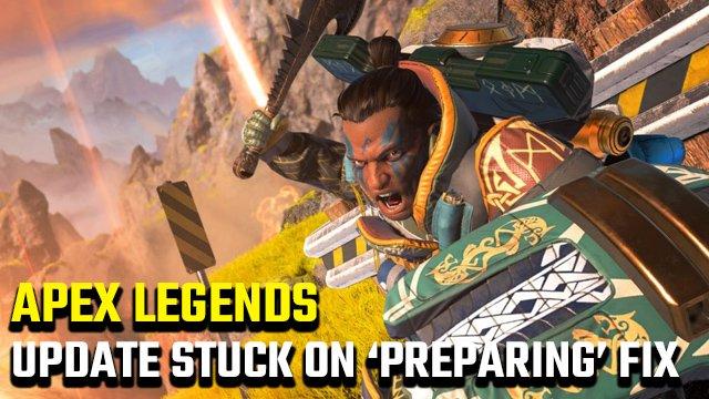 """Aggiornamento di Apex Legends bloccato sulla correzione """"Preparazione"""""""