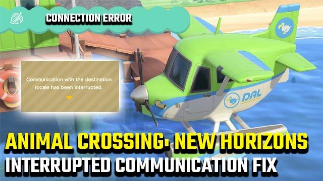 """Animal Crossing: correzione di errori """"Comunicazione con le impostazioni internazionali di destinazione"""" di New Horizons"""