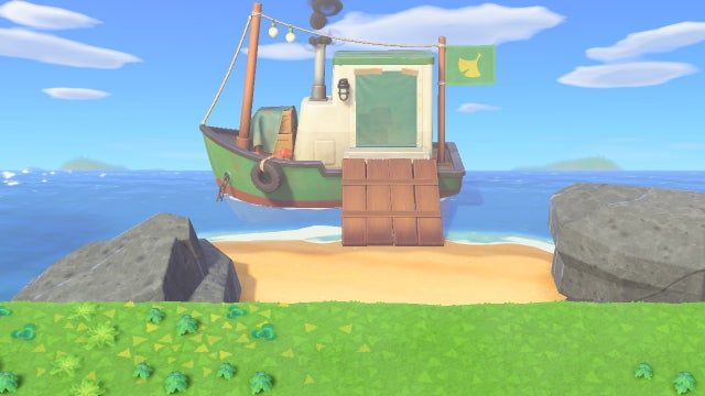Animal Crossing: New Horizons Redd Not Up Up Fix
