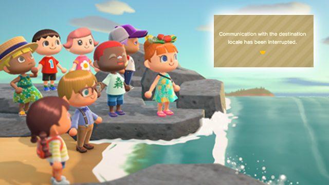 """Animal Crossing: correzione errori """"Comunicazione con le impostazioni locali di destinazione"""" di New Horizons"""