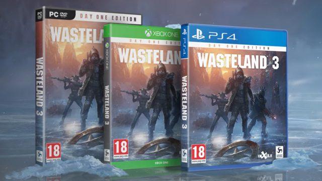 Wasteland 3 Nintendo Switch