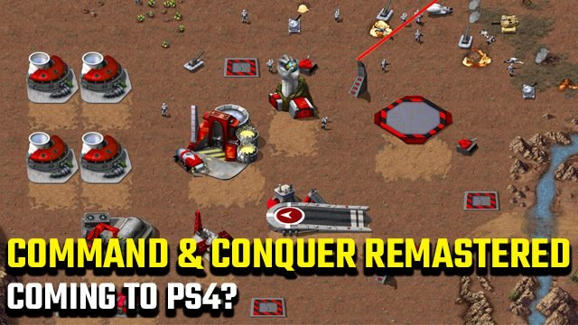 Command and Conquer Remastered Collection PS4