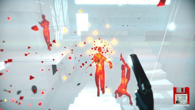 SUPERHOT PS4 Expansion Mind Control Elimina gli spari