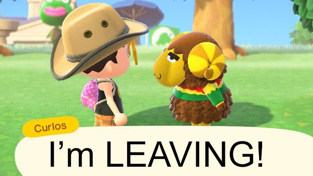Gli abitanti del villaggio possono andarsene senza chiedere in Animal Crossing: New Horizons
