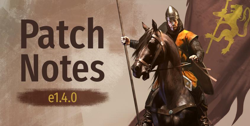 Mount & Blade II: è uscito l'aggiornamento Bannerlord e1.4.0, vari miglioramenti