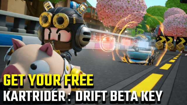 Ottieni una chiave beta gratuita di KartRider: Drift qui!