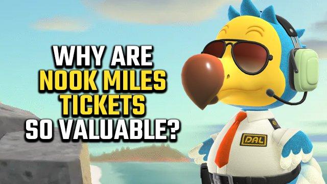 Perché i biglietti Nook Miles di Animal Crossing: New Horizons sono così preziosi?