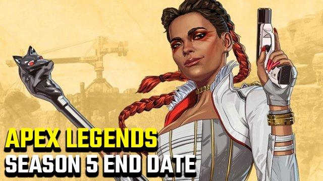 Qual è la data di fine della stagione 5 di Apex Legends?