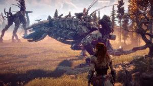 Horizon Zero Dawn 2 PS5 reveal plains